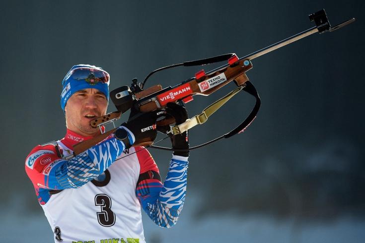 Российские биатлонисты не попали в топ-10