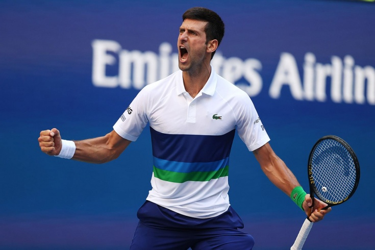 В 1/2 финала US Open — 2021 Новак Джокович взял реванш у Зверева за Олимпиаду и в финале поспорит за титул с Медведевым
