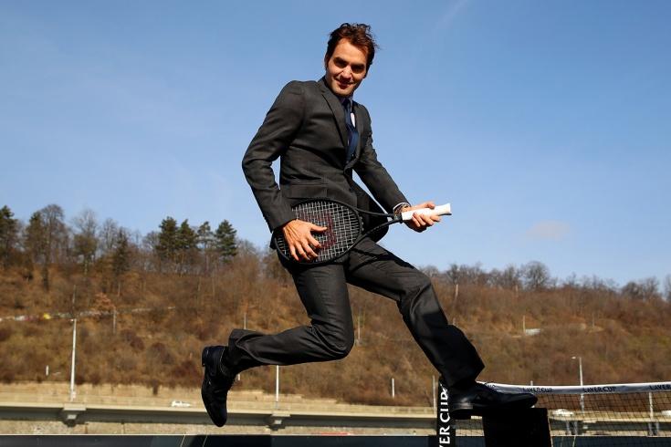 Швейцарец Роджер Федерер заработал 106 миллионов долларов за год и обошёл Месси и Роналду
