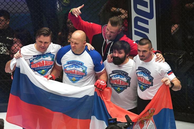К Емельяненко проявят уважение. Фёдор поведёт Россию в бой с остальным миром!