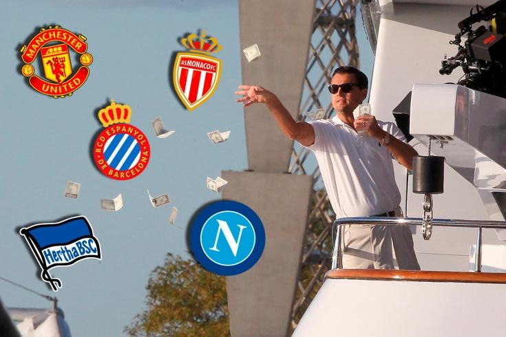 Топ-10 клубов, которые потратили деньги на трансфе