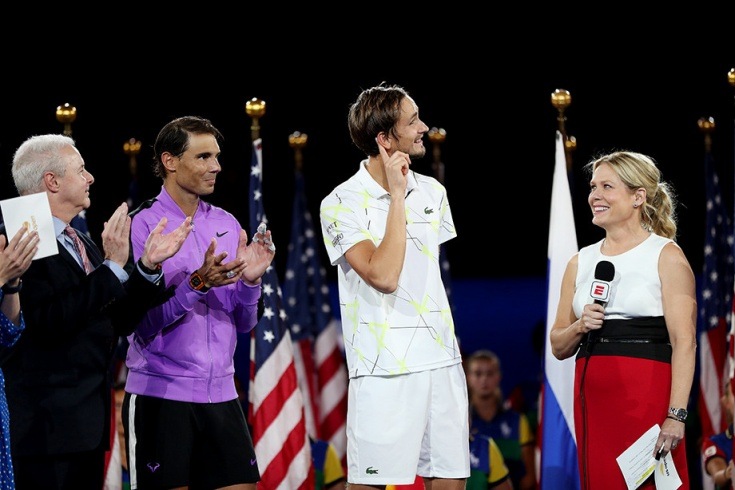 Даниил Медведев проиграл финал US Open Надалю