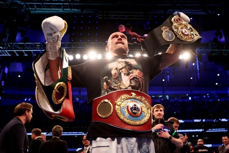 Александр Усик победил Энтони Джошуа и стал новым чемпионом мира в супертяжёлом весе