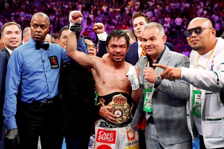 Мэнни Пакьяо завоевал титул суперчемпиона мира WBA