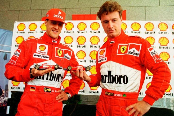 Что стало с первым напарником Михаэля Шумахера в «Феррари» в Формуле-1 Эдди Ирвайном