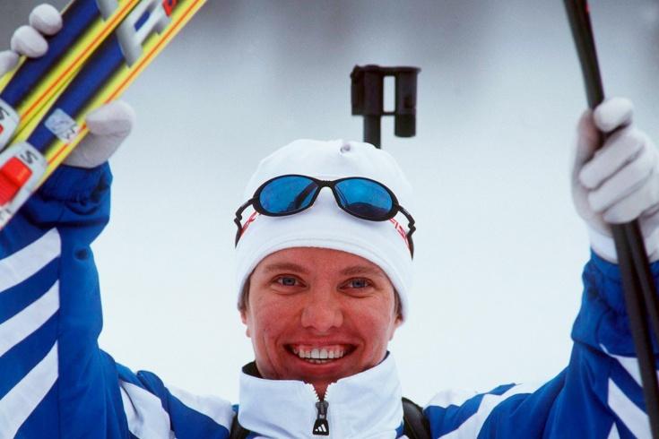 Драматичная победа российской биатлонистки Галины Куклевой на Олимпиаде в Нагано