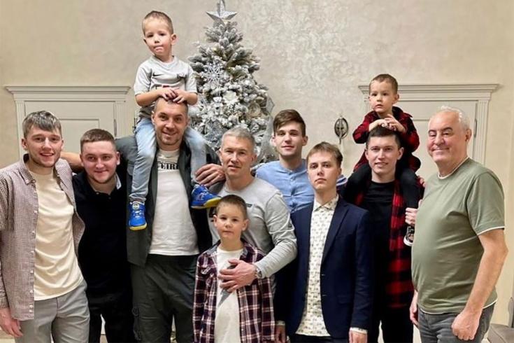 Как футболисты «Зенита» встретили Новый год