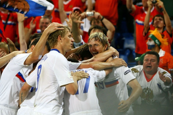 Тест по истории выступлений сборной России на Евро