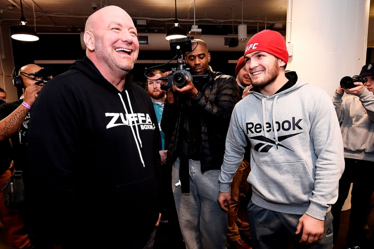 Хабиб встретится с президентом UFC. Что потребует чемпион за возвращение?
