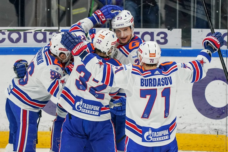 «Динамо» Москва – СКА – 1:3, второй раунд плей-офф КХЛ, сезон-2020/2021, отчёт и видео
