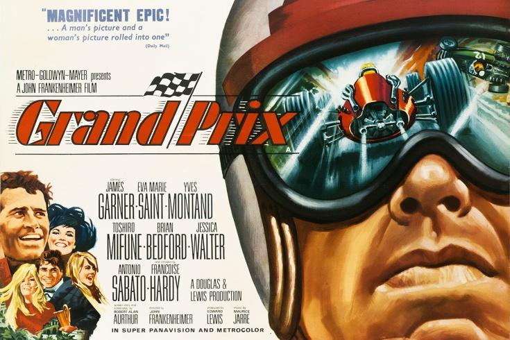 «Гран-при» — первый крутой фильм про гонки