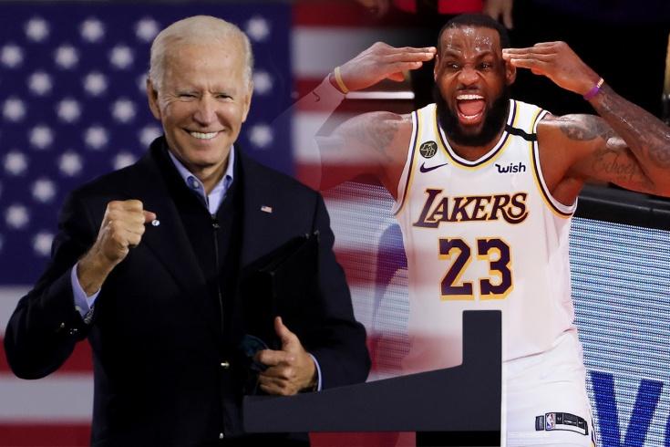 Игроки НБА — об избрании Джо Байдена на пост президента США и поражении Дональда Трампа
