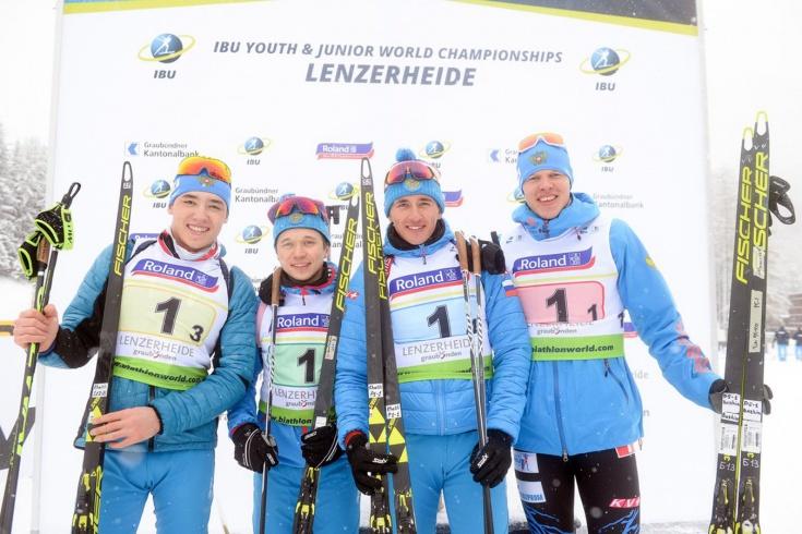 Россияне побеждают на юниорском ЧМ по биатлону