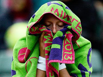 Екатерина Макарова не доиграла матч с Квитовой