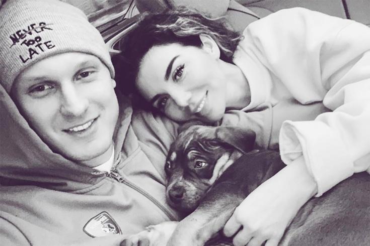 Тимма и Седокова завели «инстаграм» своему щенку