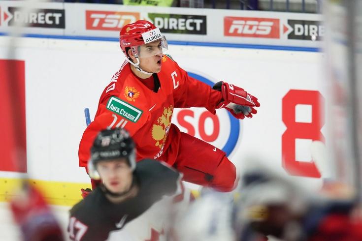МЧМ-2020: самый крупный разгром Канады от России в истории турнира со счётом 6:0