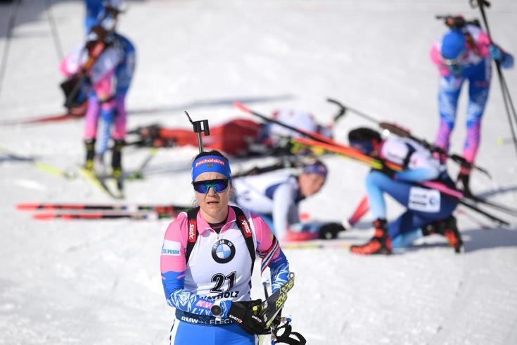Чемпионат мира по биатлону 2020: женская сборная России осталась без медалей