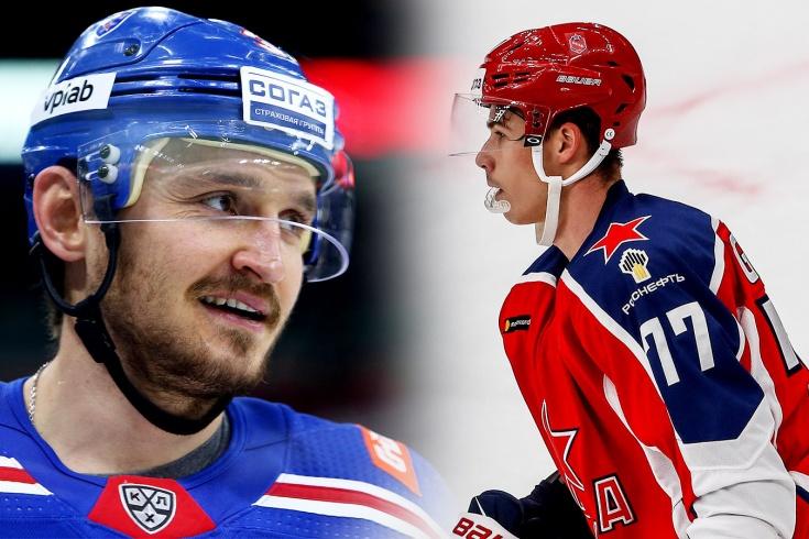 Какие хоккеисты могут покинуть СКА и ЦСКА