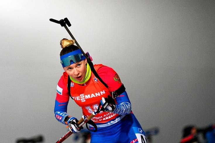 Скандальная биатлонистка Павлова стала лучшей в сборной России в гонке преследования