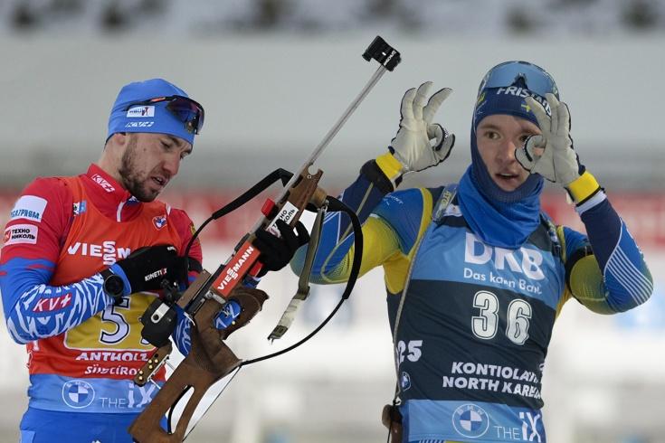 Шведский биатлонист Самуэльссон вновь призвал Александра Логинова извиниться за применение допинга