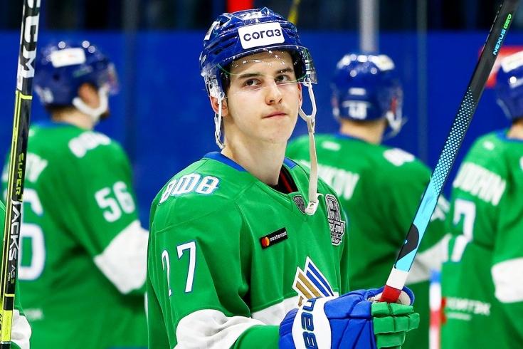 Нападающий «Салавата Юлаева» Родион Амиров получил травму перед сезоном-2021/2022