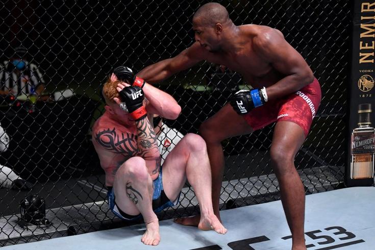 Эд Херман кимурой победил Майка Родригеса на UFC Fight Night 177, видео боя