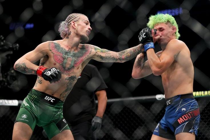 Шон О'Мэлли победил Криса Моутинью на UFC 264, видео