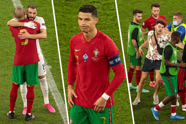 Португалия — Франция