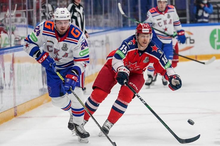ЦСКА одержал две домашние победы над СКА в финале конференции, что происходит в КХЛ, 5 апреля 2021 года