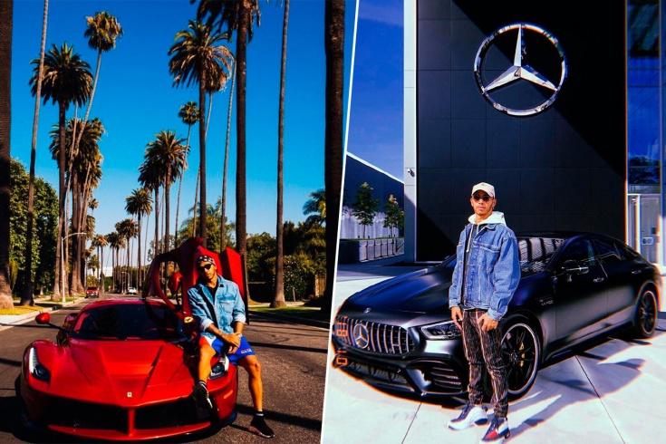 Шикарные машины Льюиса Хэмилтона: от «Феррари» до «Пагани». Есть и крутые байки