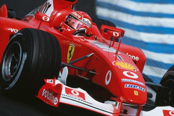 Чемпионскую машину Шумахера продали за $ 6,6 млн.