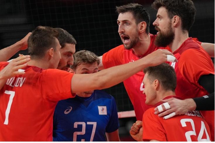 Волейбол, Россия – США