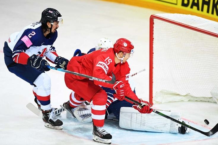 Великобритания — Россия – 1:7 – видео, голы, обзор матча чемпионата мира по хоккею 2021