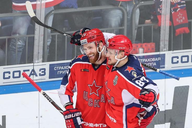 ЦСКА – «Авангард» – 3:0