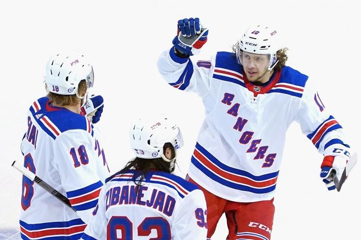 Панарин не привёл «Рейнджерс» на праздник хоккея. Ожидание и реальность плей-ин НХЛ