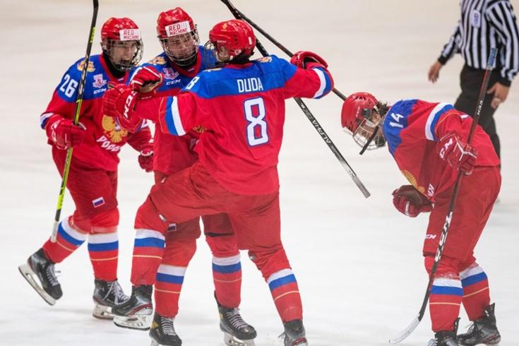 Россия – обладатель Кубка Глинки/Гретцки! Наши юниоры выиграли все матчи на турнире