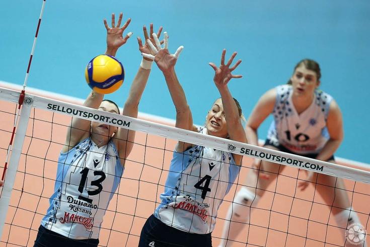 Чемпионат России по волейболу продолжается