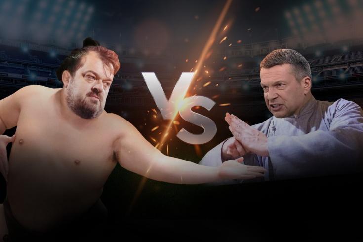 Василий Уткин против Владимира Соловьёва, кто победил бы в реальном бою, опрос