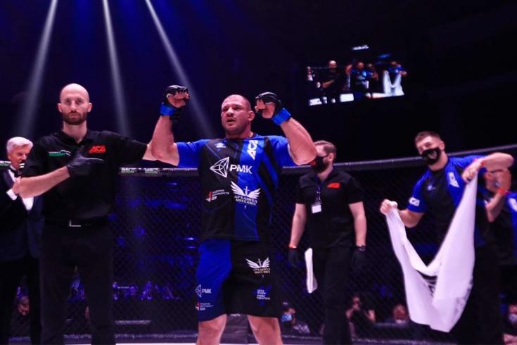 Иван Штырков победил Мурата Гугова на ACA 120 26 марта 2021