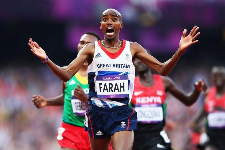 Легендарный бегун Мо Фарах