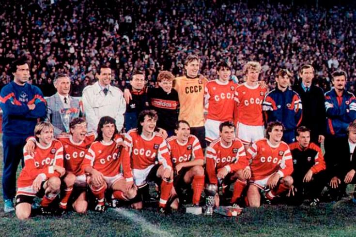 Победа сборной СССР на молодёжном Евро-1990 по футболу– как это было