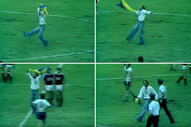 Как болельщик на Олимпиаде-1976 выбежал на поле