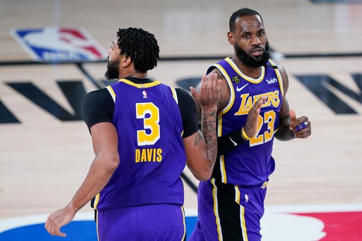 «Лейкерс» обыграли «Майами» в финале НБА и находятся в шаге от завоевания титула чемпиона