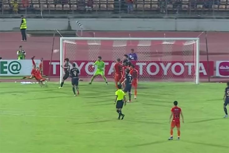 В Таиланде забили уникальный гол двойным ударом «н