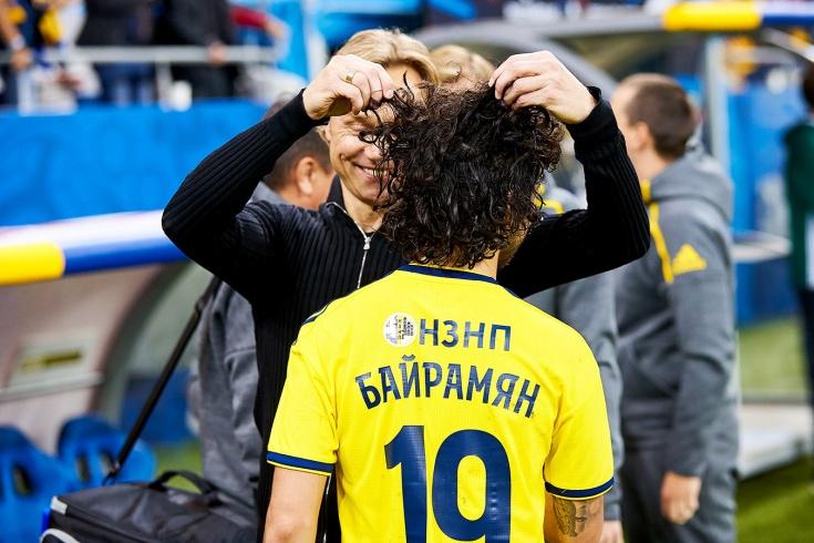 Байрамян: выиграли спор у Карпина, поэтому с Шомуродовым остаёмся ...