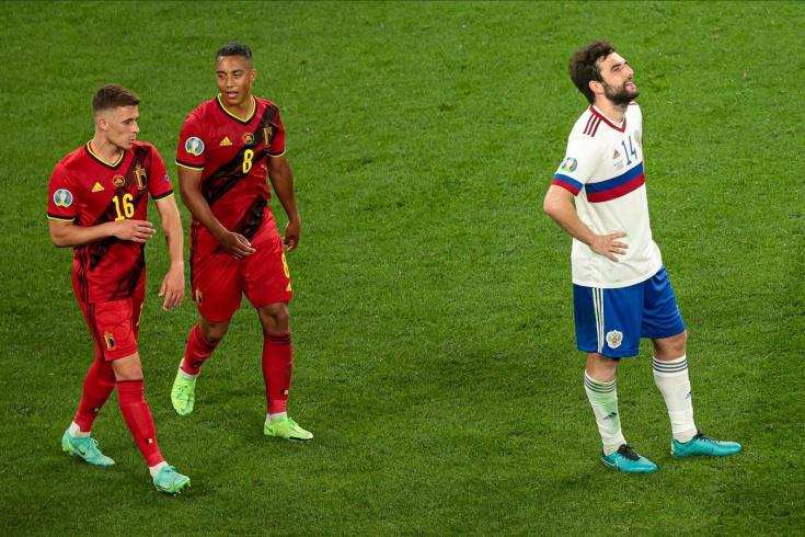 Евро-2020, Бельгия – Россия