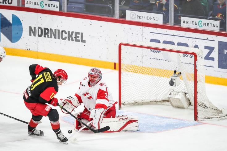 «Йокерит» обыграл «Спартак» в Хельсинки