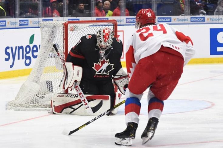 Молодёжная сборная Канады не может дождаться контрольного матча с Россией