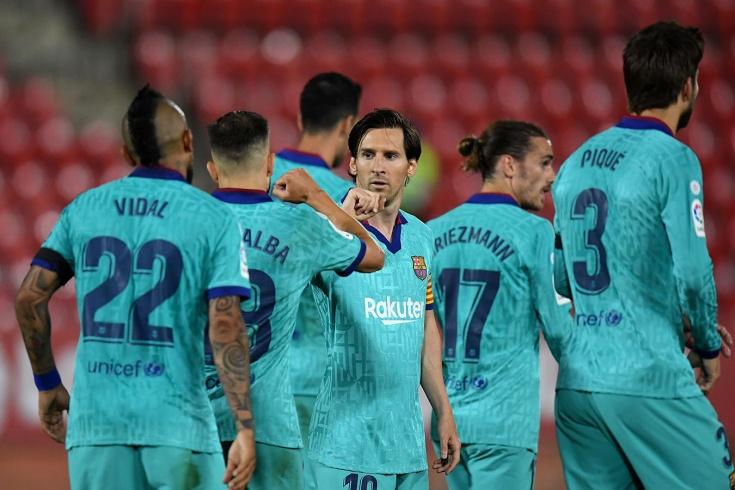«Мальорка» – «Барселона» – 0:4
