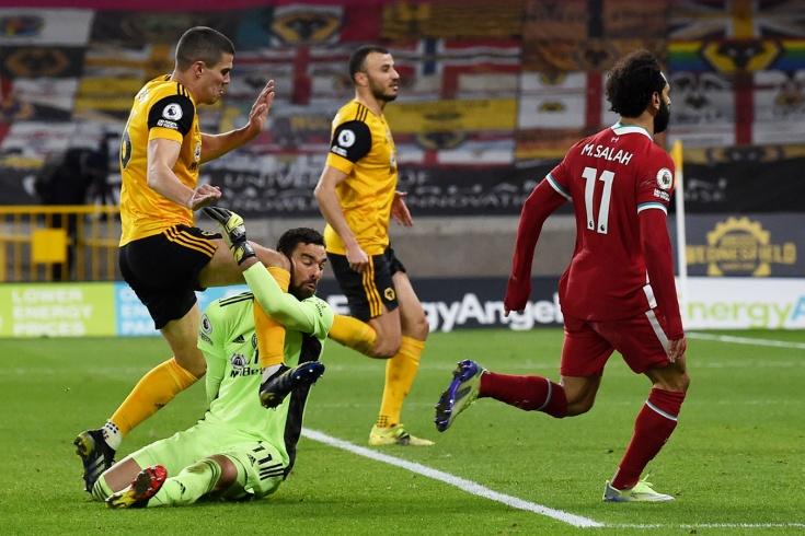 «Вулверхэмптон»-«Ливерпуль» — 0:1, страшная травма вратаря Руя Патрисиу